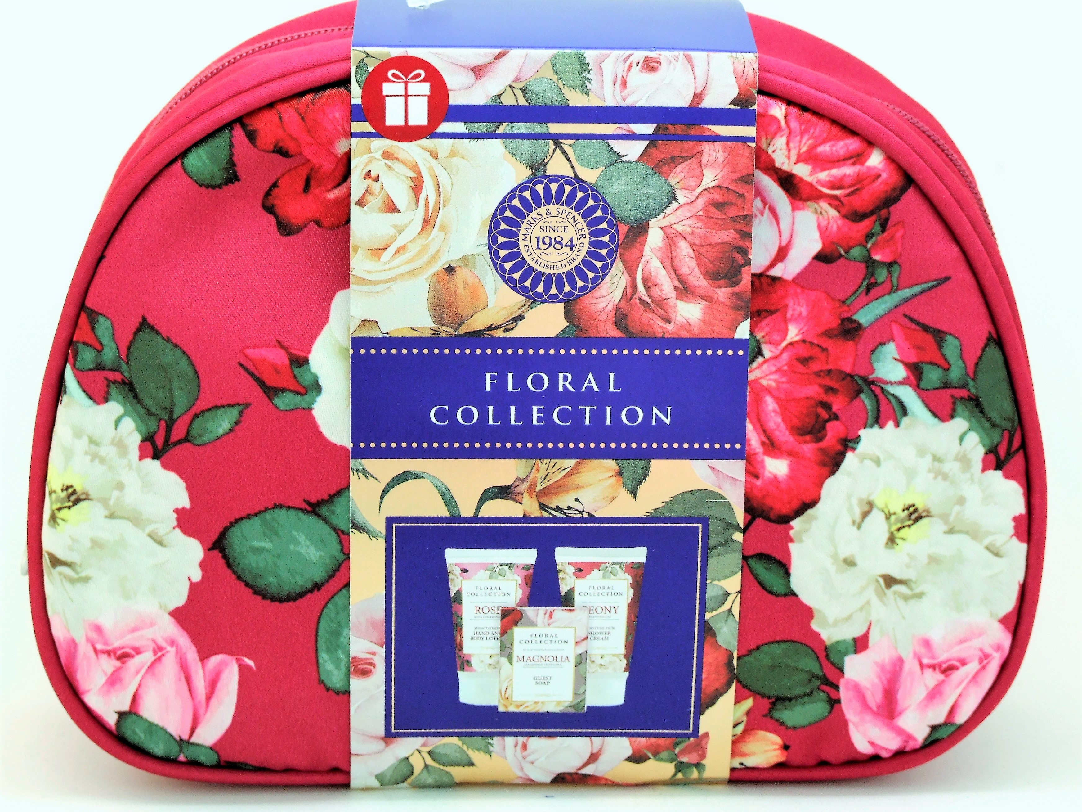Flowery designed Cosmetic Bag
