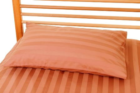Single Copper Sheet and Pillowcase
