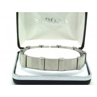 Sabona: Executive Brushed Steel Bracelet