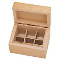 Wooden Aromatherapy Box for 6 essential oils