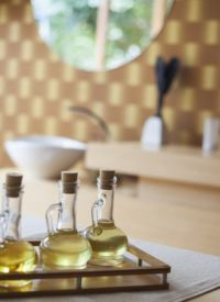 Les huiles pures et de massage